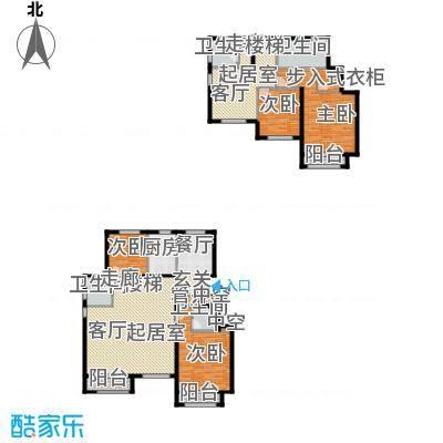 通泰·香滨城218.00㎡通泰・香滨城D-1户型