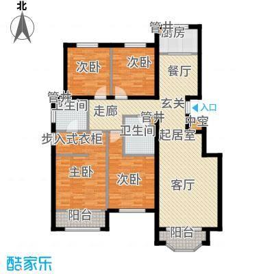 通泰·香滨城143.00㎡通泰・香滨城C-1户型