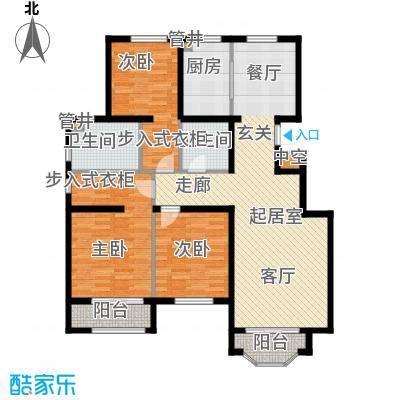 通泰·香滨城133.00㎡通泰・香滨城A-1户型