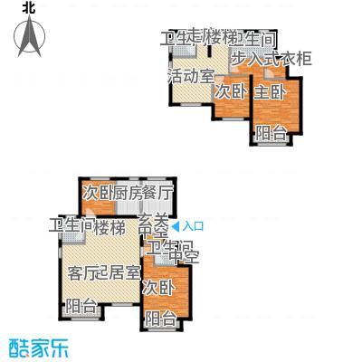 通泰·香滨城218.00㎡通泰・香滨城电梯洋房标准层D1户型