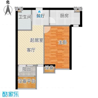新弘国际阳光城59.23㎡D-4户型