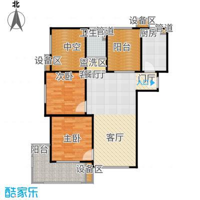 新弘国际阳光城86.10㎡B-1奇数层户型