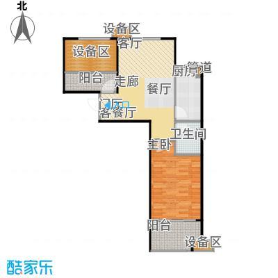 新弘国际阳光城67.43㎡D-1户型
