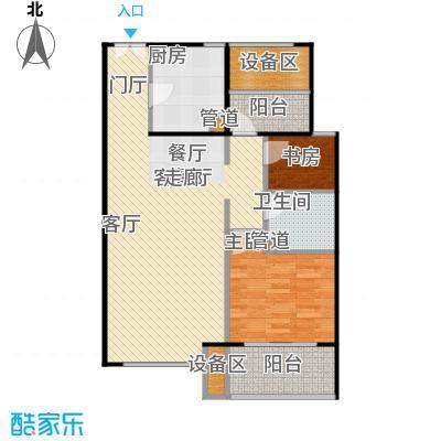 新弘国际阳光城80.43㎡C-2偶数层户型