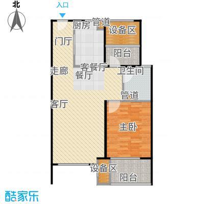 新弘国际阳光城81.43㎡B3-奇数层户型