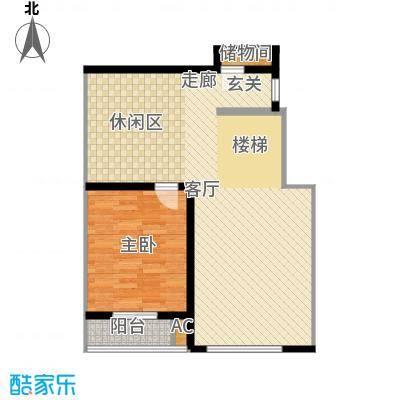 北京奥林匹克花园ⅢB1-XY1户型