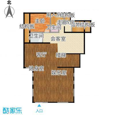 康城暖山B1-2庭院户型