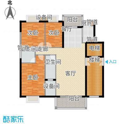 兴隆中泰广场132.40㎡C户型