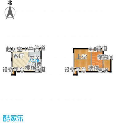 北京城建·N次方67.29㎡北京城建・N次方21#综合楼B2户型