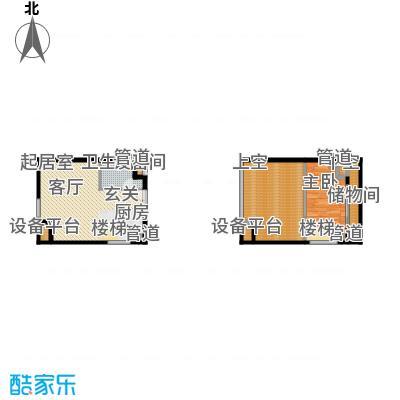 北京城建·N次方66.38㎡北京城建・N次方21#综合楼A3户型