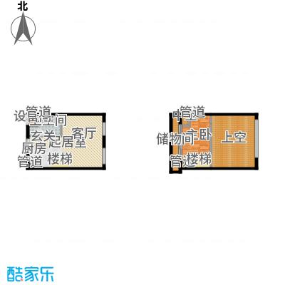 北京城建·N次方60.11㎡北京城建・N次方21#综合楼C户型