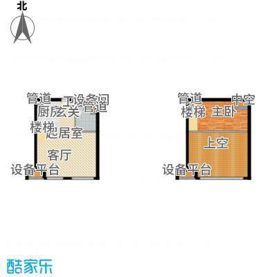 北京城建·N次方65.00㎡北京城建・N次方21#综合楼B1开间户型