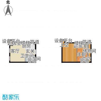 北京城建·N次方65.00㎡北京城建・N次方21#综合楼A2开间户型