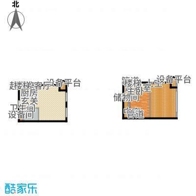 北京城建·N次方65.00㎡北京城建・N次方21#综合楼A1开间户型