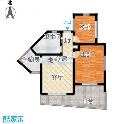 博鳌宝莲城90.68㎡景海公寓D01/0(24-26层)户型