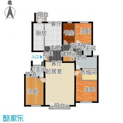 招商嘉铭·珑原215.00㎡招商嘉铭・珑原B2-01面积21500m户型