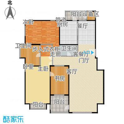 朱雀门209.23㎡19/20#楼H面积20923m户型