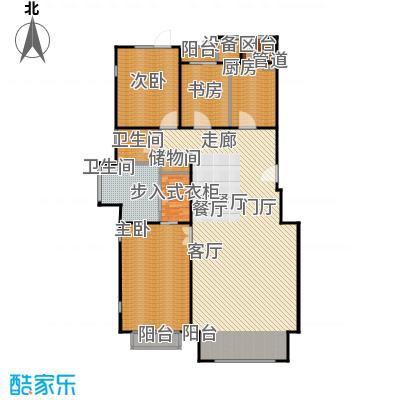 朱雀门196.02㎡13/14#楼D面积19602m户型