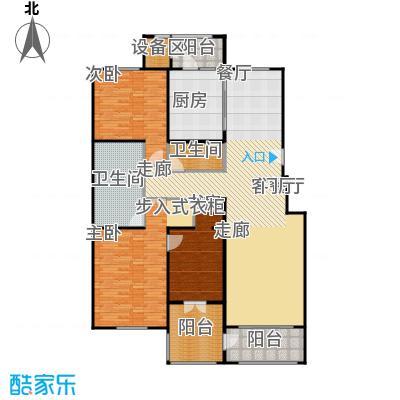 朱雀门186.18㎡27#楼R面积18618m户型