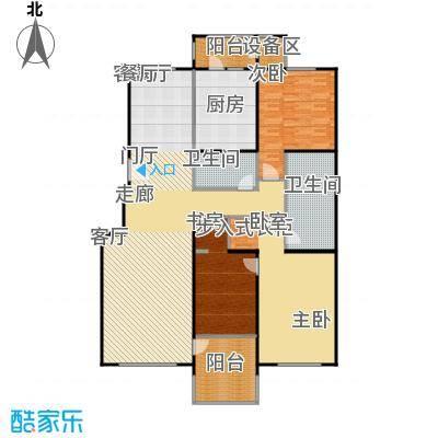 朱雀门179.72㎡13/14#楼E面积17972m户型