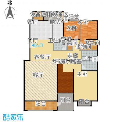 朱雀门290.56㎡11/12#楼B面积29056m户型