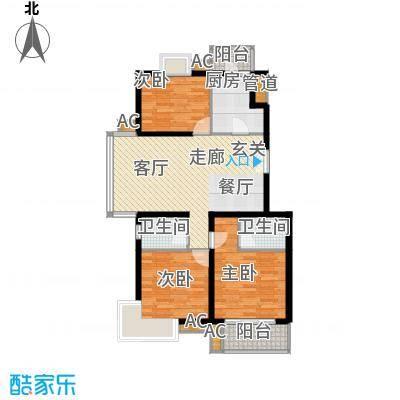 上海沙龙118.91㎡D1面积11891m户型