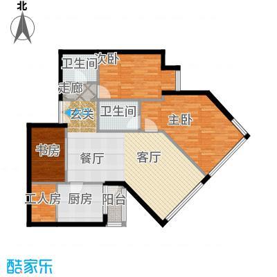 阳光100国际公寓C2户型