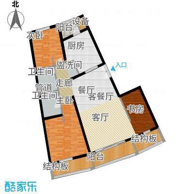 维多莉亚花园公寓151.91㎡D3户型