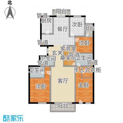 亚运新新家园224.49㎡B5号楼C面积22449m户型
