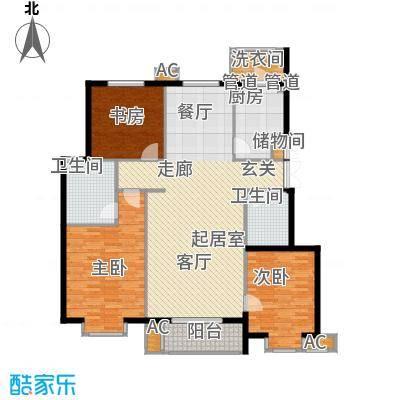 北京太阳城141.00㎡B3面积14100m户型
