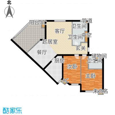 北京太阳城141.00㎡三期R面积14100m户型