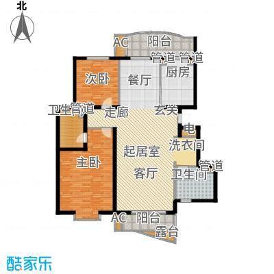 北京太阳城131.00㎡三期Q面积13100m户型