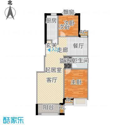 中海城香克林100.40㎡2A(正)面积10040m户型