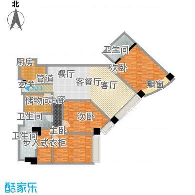 新世界太华公寓230.00㎡面积23000m户型