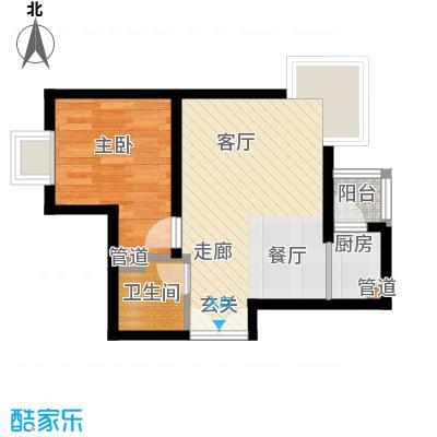 鹿港嘉苑二期7号楼T户型