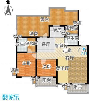 东方太阳城三期琴湖湾147.14㎡B2面积14714m户型