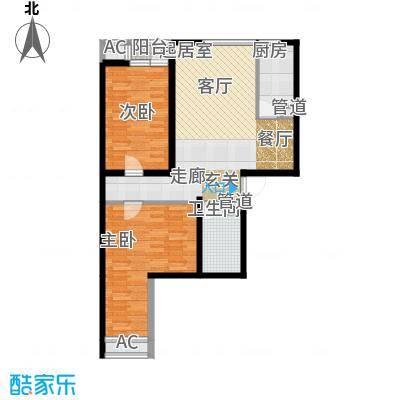 嘉美风尚中心103.90㎡2号楼M面积10390m户型