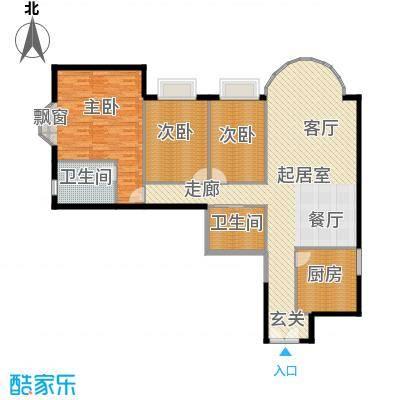 圣馨大地家园148.00㎡面积14800m户型