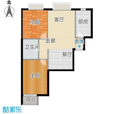 新裕家园101.36㎡B21面积10136m户型