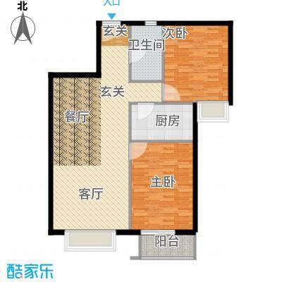 新裕家园93.13㎡B31面积9313m户型