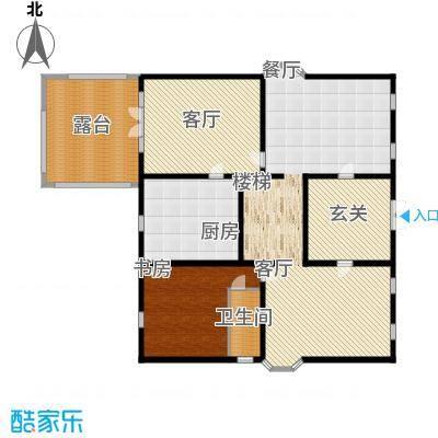 丽高王府234.40㎡A1二层面积23440m户型