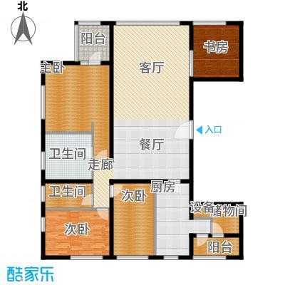 US联邦公寓229.28㎡L面积22928m户型