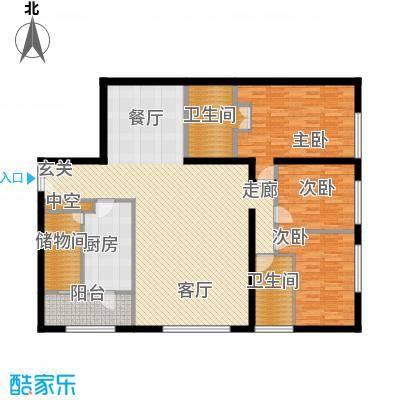 US联邦公寓192.69㎡A面积19269m户型