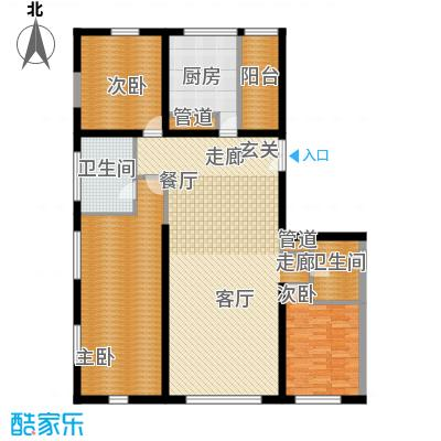 US联邦公寓199.81㎡F面积19981m户型