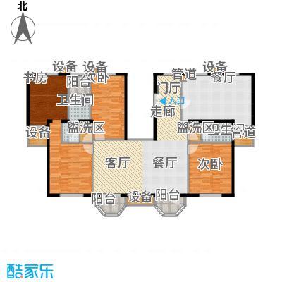 中海城圣朝菲187.45㎡PH3A3A标准面积18745m户型