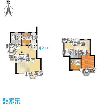 中海城圣朝菲188.84㎡LF3A标准户面积18884m户型