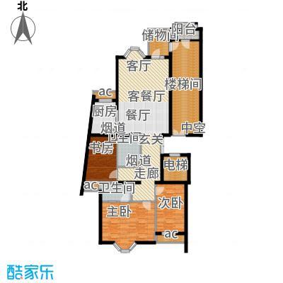 上京新航线141.00㎡H面积14100m户型