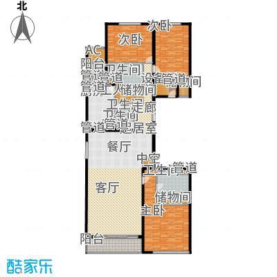 北京GOLF公寓1号楼D2户型