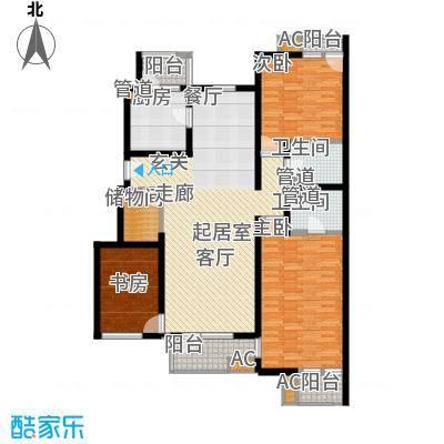 万科青青家园135.11㎡201、215#J面积13511m户型