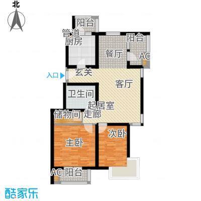 万科青青家园93.31㎡216、220号面积9331m户型